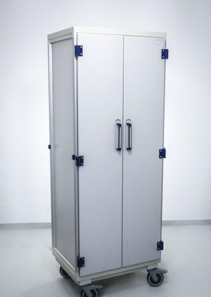 Niemagnetyczna szafa medyczna Scan Module System z akcesoriami