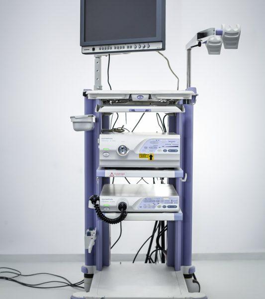 Zestaw endoskopowy OLYMPUS CV-260SL CLV-260SL