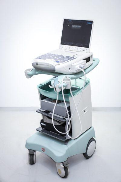 Przenośne USG Esaote MyLab 25 z głowicą liniową Ultrasonograf