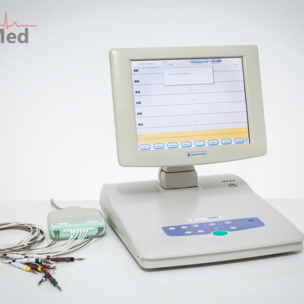 EKG Nihon Kohden Cardiofax V 1550K Elektrokardiograf 10-leads