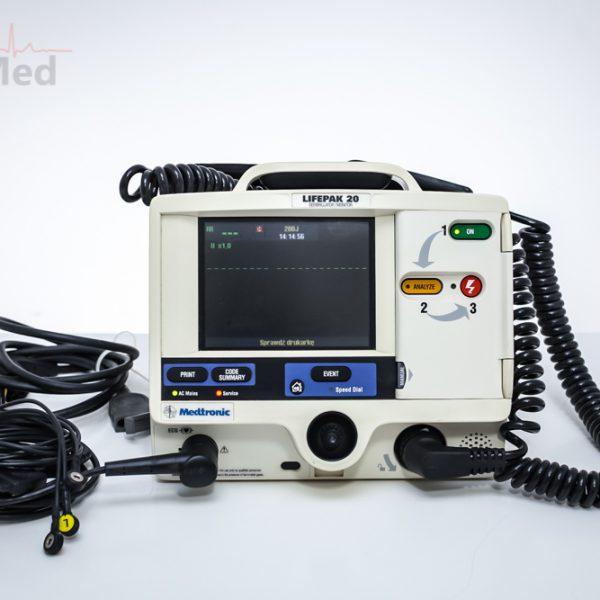 Defibrylator dwufazowy Medtronic LIFEPAK 20