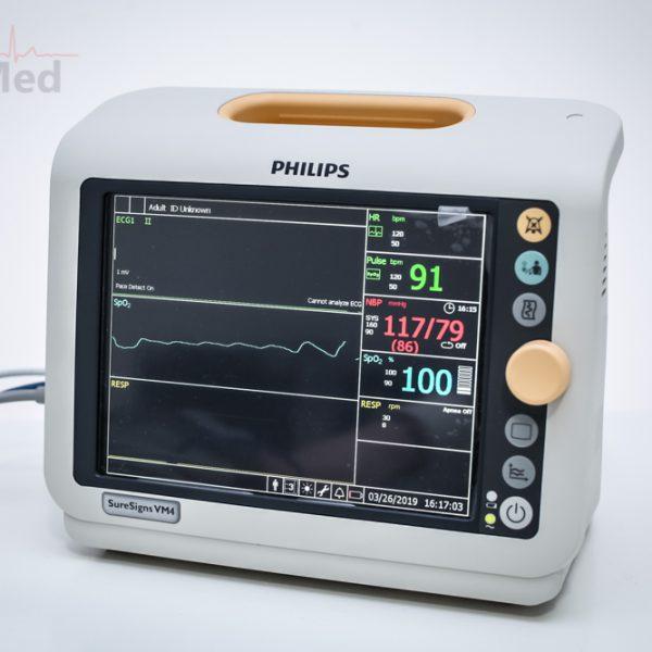 Kardiomonitor Philips SureSigns VM4 z EKG