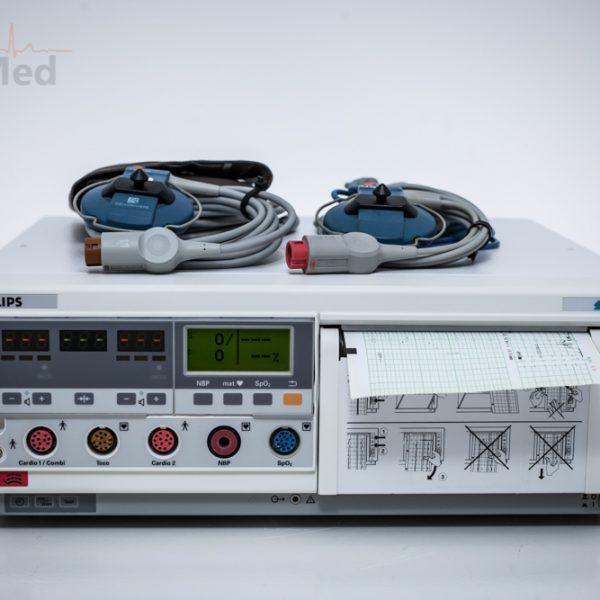 KTG Philips Series 50 XM Kardiotokograf głowica TOCO i US