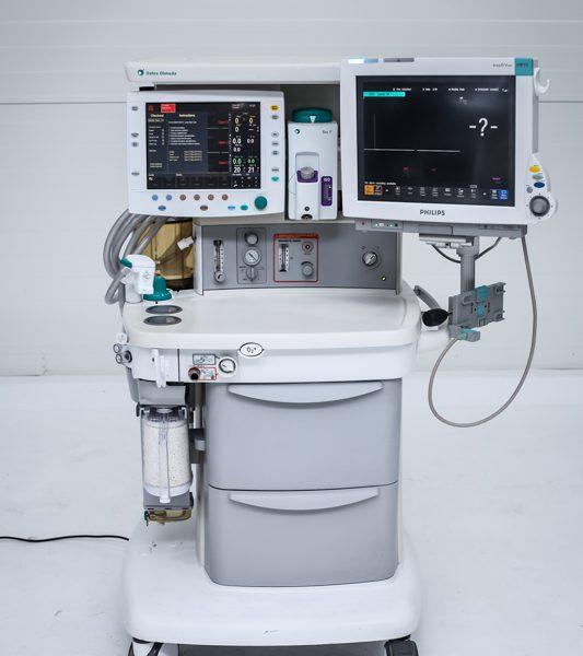 Aparat anestezjologiczny GE Datex-Ohmeda S/5 Avance z parownikiem