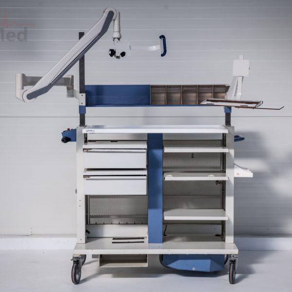 Wózek medyczny Jansen elektryczny endoskopowy
