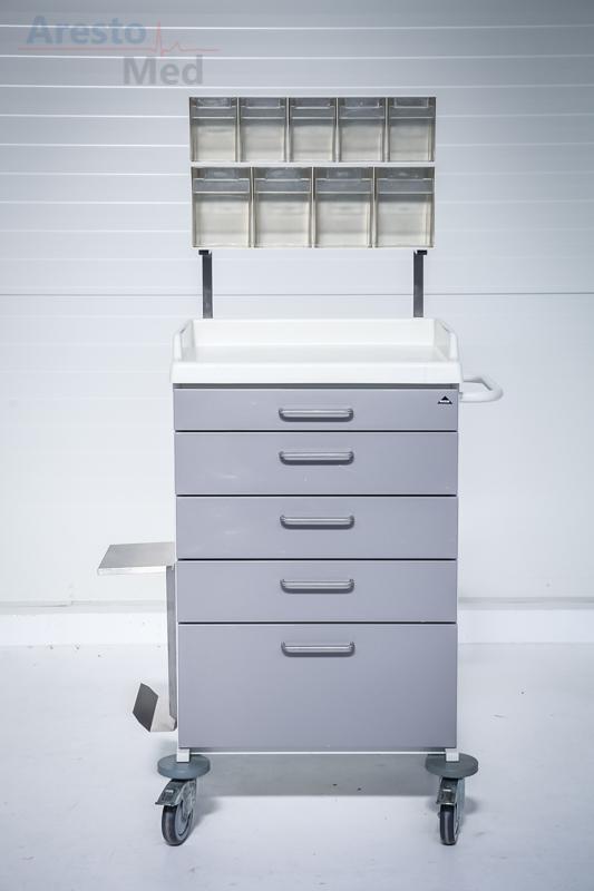 Wózek reanimacyjny, szafka anestezjologiczna Secker