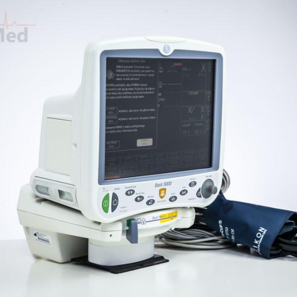 Kardiomonitor GE DASH 5000 Monitor pacjenta CO2