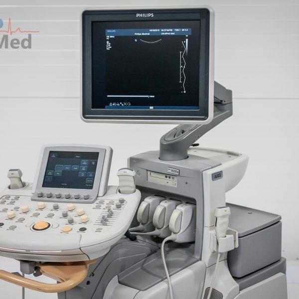 Ultrasonograf PHILIPS iU22 3 głowice USG